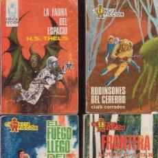 Cómics: ESPACIO EL MUNDO FUTURO , LOTE DE 5 NOVELAS -ED. TORAY. Lote 30738031