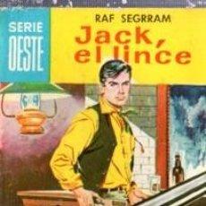 Cómics: SERIE OESTE, RAF SEGRAM, JACK, EL LINCE, Nº 39, MINI LIBROS BRUGUERA. Lote 31978507