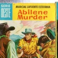Cómics: SERIE OESTE, MARCIAL LAFUENTE ESTEFANÍA, ABILENE MURDER, Nº 34, MINI LIBROS BRUGUERA. Lote 31978620