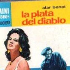 Cómics: SERIE OESTE, ALAR BENET, LA PLATA DEL DIABLO, Nº 768, MINI LIBROS BRUGUERA. Lote 31978789