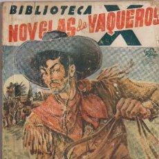 Cómics: BIBLIOTECA X.NOVELAS DE VAQUEROS Nº 37 TIERRA DE PISTOLEROS POR F.MEDIANTE . EDITORIAL CIES 1945.. Lote 32046723