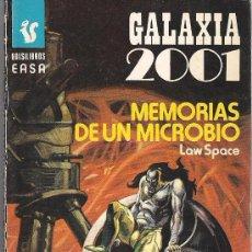 Cómics: GALAXIA 2001 Nº 234 MEMORIAS DE UN MICROBIO POR LAW SPACE, ANDINA. Lote 32072284