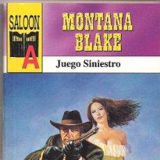 Cómics: SALOON Nº 3 JUEGO SINIESTRO POR MONTANA BLAKE. EDITORIAL ASTRI. Lote 32076093
