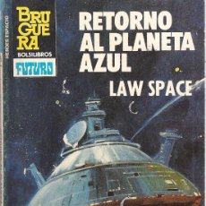 Comics : HEROES DEL ESPACIO Nº 205 RETORNO AL PLANETA AZUL. LAW SPACE. BRUGUERA. Lote 32330327
