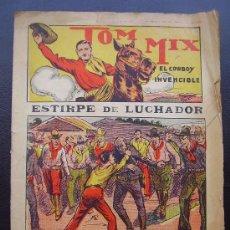 Cómics: TOM MIX, EL COWBOY INVENCIBLE, Nº 1. Lote 32886630