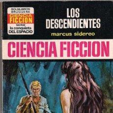 Comics : LA CONQUISTA DEL ESPACIO Nº 227 LOS DESCENDIENTES POR MARCUS SIDEREO. BRUGUERA.. Lote 33434265