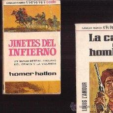 Cómics: COLECCION CABALLO BLANCO, LOTE 2 EJEMPLARES -EDITA : BRUGUERA 1966. Lote 33768429