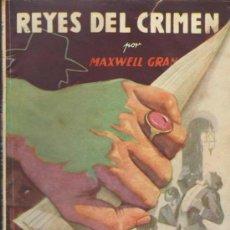 Cómics: LA SOMBRA. HOMBRES AUDACES Nº 87. REYES DEL CRIMEN. MOLINO 1945.. Lote 34400293