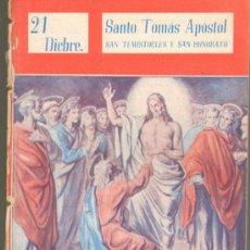Cómics: TEBEOS-COMICS GOYO - NUESTROS SANTOS 1944 - STO TOMAS APOSTOL, SAN TEMISTOCLES Y SAN HONORATO *AA99. Lote 34951823