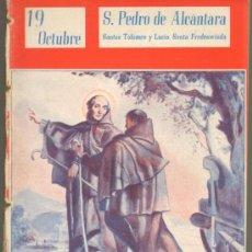 Cómics: TEBEOS-COMICS GOYO - NUESTROS SANTOS 1944 - S PEDRO ALCANTARA - TOLOMEO Y LUCIO-STA FREDESVINDA*AA99. Lote 34952001