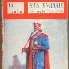 Cómics: TEBEOS-COMICS GOYO - NUESTROS SANTOS 1944 - SAN ENRIQUE - SAN POMPILIO - MARIA PIRROTTI *AA99. Lote 34952119