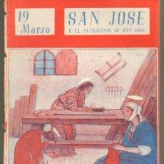 Cómics: TEBEOS-COMICS GOYO - NUESTROS SANTOS 1944 - SAN JOSE - EL PATROCINIO DE SAN JOSE *AA99. Lote 34952198
