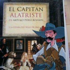 Cómics: EL CAPITÁN ALATRISTE Y EL SIGLO DE ORO. EL PAÍS-AGUILAR (2002) *COMPLETO*. Lote 35392843