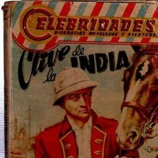 Cómics: CELEBRIDADES, CLIVE DE LA INDIA PÒR LEWIS HAROC 47, 158PÁGS, 11X15CM. Lote 35928268