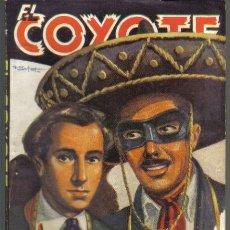 Cómics: EL COYOTE Nº 34. PADRE E HIJO. CLIPER 1946. Lote 35979015
