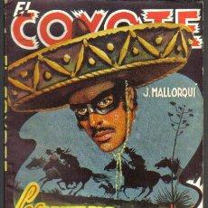 Cómics: EL COYOTE Nº 65. LOS MOTIVOS DEL COYOTE. CLIPER 1948.. Lote 36089354