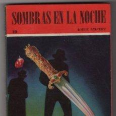 COLECCION RASTROS # 19 ACME 1945 SOMBRAS EN LA NOCHE, A. SEIFERT 190 PAG, BOLSILIBRO - IMPECABLE