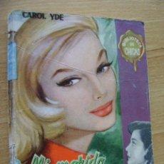 Cómics: CAROL YDE, MI MARIDO ME IGNORA. BIBLIOTECA DE CHICAS. Lote 37695195