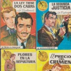 Cómics: LOS BUSTAMANTES. J. MALLORQUÍ. LOTE DE 7 EJEMPLARES: 3,4,6,7,11,13,Y 14. CID 1962.. Lote 37639256