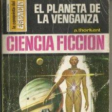 Comics : UXL CIENCIA FICCION Nº 264 EL PLANETA DE LA VENGANZA A. THORKENT BRUGUERA CONQUISTA DEL ESPACIO . Lote 38504890