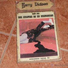 Cómics: NOVELA SERIE HARRY DICKSON.NUMERO 9.EDICIONES JUCAR 1972. Lote 39438960
