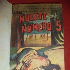 Cómics: MUERTE EN EL NUMERO 5. GEORGE BELLAIRS. EDICIONES CID. 1ªED. MADRID. 1958.. Lote 39585163