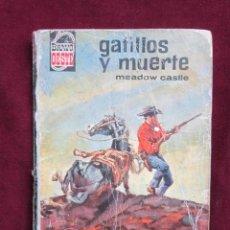 Cómics: GATILLOS Y MUERTE. MEADOW CASTLE. COLECCIÓN BRAVO OESTE, 275. BOLSILIBROS BRUGUERA 1966. Lote 40014724