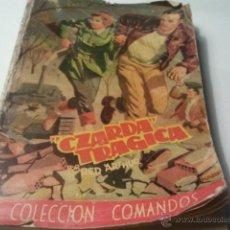 Cómics: COLECCION COMANDOS CZARDA TRAGICA Nº 209 EDI. VALENCIANA 1958 - RED ARTHUR - PORTADA DE KARPA . Lote 40203456