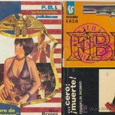 F B I . Lote de 2 Novelas, Nº 100 y 314 Easa.