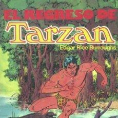 Cómics: TARZÁN. EL REGRESO DE TARZÁN. EDITORIAL NOVARO, 1981 . Lote 45072862