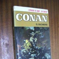 Cómics: CONAN EL BUCANERO / SPRAGUE - CARTER / ED. BRUGUERA 1ª EDICIÓN 1973. Lote 45416913