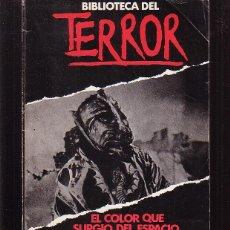Cómics: BIBLIOTECA DEL TERROR Nº 4 , EL COLOR QUE SURGIÓ DEL ESPACIO / HP LOVECRAFT - EDITA : FORUM. Lote 46254964