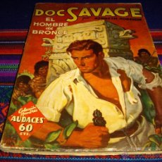 Cómics: DOC SAVAGE EL HOMBRE DE BRONCE Nº 1. MOLINO BARCELONA 1936. MBE Y MUY DIFÍCIL. NO ARGENTINA.. Lote 46464900