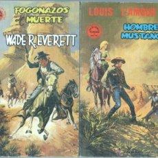 Cómics: TUCAN EDICIONES VERTICE 1 A 8 , 1980 COMPLETA- LOUIS L'AMOUR - JAKE LOGAN - WADE R. EVERETT. Lote 46467533