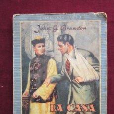 Cómics: LA CASA SILENCIOSA POR JOHN G. BRANDON. SERIE HÉROES Nº 4. COLECCIÓN OASIS. REGUERA 1948. Lote 46603688