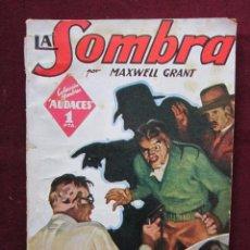 Cómics: LA SOMBRA. LA SOMBRA RIE POR MAXWELL GRANT. COLEC. HOMBRES AUDACES, 3. ED. MOLINO 1938. Lote 46604295