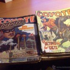 Cómics: EL COYOTE (J. MALLORQUI) LOTE 13 EJEMPLARES. PRIMERA EDICION (COIB196). Lote 46790497