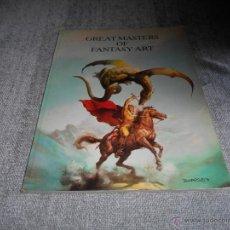 Cómics: GREAT MASTERS OF FANTASY ART TACO 1986 RICHARD CORBEN VICENTE SEGRELLES ETC. Lote 47428624