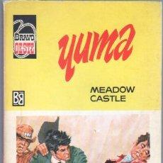 Cómics: BRAVO OESTE Nº 400 EDITORIAL BRUGUERA 1968 - MEADOW CASTLE - YUMA - 128 PGS 15 X 10,5 CMS. Lote 47526172