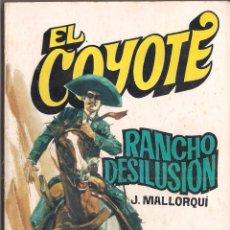 Cómics: EL COYOTE Nº 132 J. MALLORQUI EDITORIAL FAVENCIA 1975. Lote 47678707