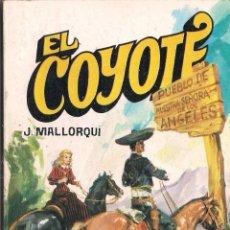 Cómics: EL COYOTE Nº 125 J. MALLORQUI EDITORIAL FAVENCIA 1975. Lote 47679074