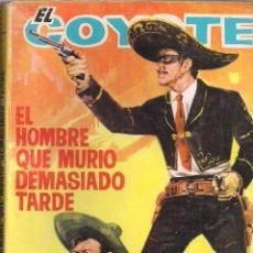 Cómics: EL COYOTE Nº 159 J. MALLORQUI EDICIONES CID 1964 PORTADA DE JANO. Lote 47717816