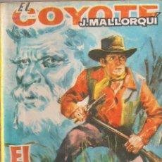 Cómics: EL COYOTE Nº 102 J. MALLORQUI EDICIONES CID 1963 PORTADA DE JANO. Lote 47784949