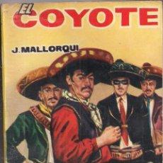 Cómics: EL COYOTE Nº 46 J. MALLORQUI EDICIONES CID 1962 PORTADA DE JANO. Lote 47852948