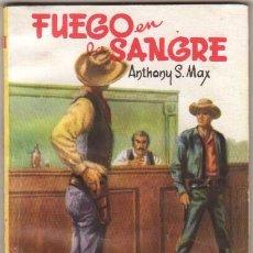 Cómics: COLECCIO EL PASO Nº 25 EDITORIAL MATEU 1959 - ANTHONY S. MAX - FUEGO EN LA SANGRE. Lote 48391786