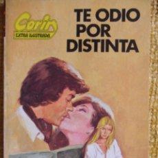 Cómics: TE ODIO POR DISTINTA. CORIN TELLADO. CORIN ILUSTRADA. SOLO MAYORES DE 18 AÑOS. EDITORIAL BRUGUERA 19. Lote 48818242