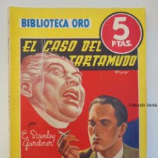 Comics : BIBLIOTECA ORO - EL CASO DEL TARTAMUDO - E. STANLEY GARDNER - MOLINO - AMARILLA - Nº 172. Lote 48868535