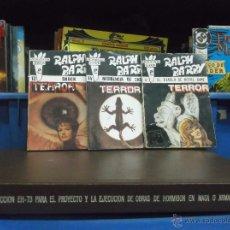 Cómics: BOLSILIBROS ESCALOFRÍOS TERROR Nº 4,12,14 - RALPH BARBY - ED. EDICIONES OLIMPIC. Lote 49080144