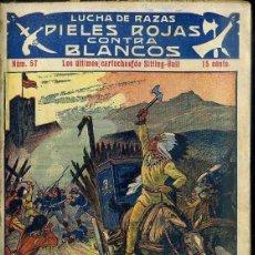 Cómics: PIELES ROJAS CONTRA BLANCOS Nº 57 : LOS ULTIMOS CARTUCHOS DE SITTING BULL (ATLANTE). Lote 49246118