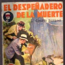 Cómics: BIBLIOTECA SEXTON BLAKE Nº 45 AÑO II, EL DESPEÑADERO DE LA MUERTE POR COUTTS BRISBANE 1934. Lote 49386857